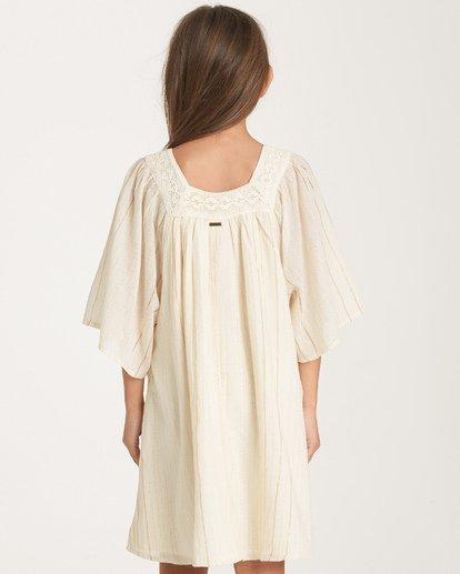 2 Girls' Feeling Sparkly Dress White GD08WBFE Billabong