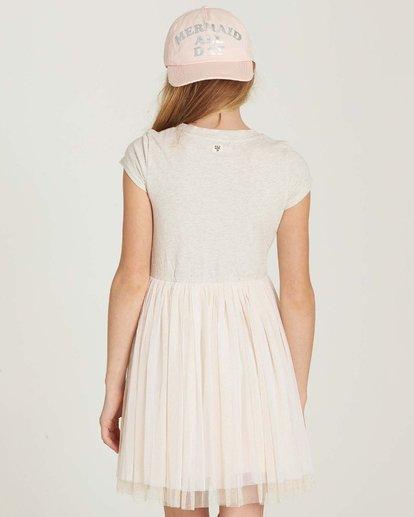 2 Girls' Sunkissed Nights Dress White GD09MSUN Billabong