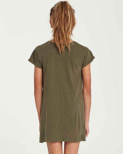 2 Girls' Last Quarter Tank Dress Green GD09QBLA Billabong