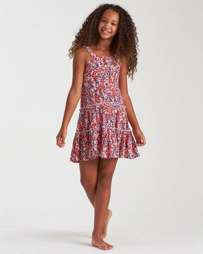 2 Girls' Love Mini Dress Black GD102BLO Billabong