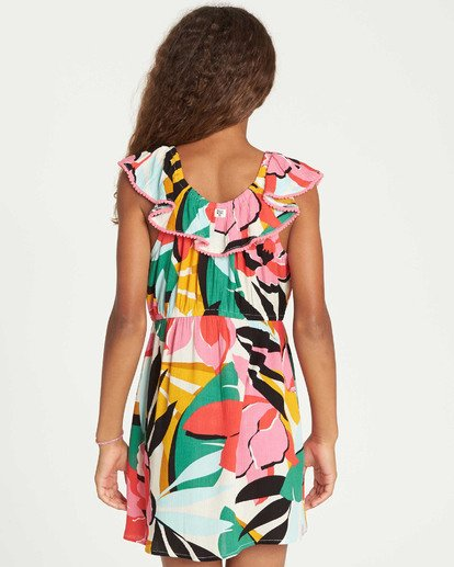 2 Girls' Under The Palms Dress  GD11TBUN Billabong