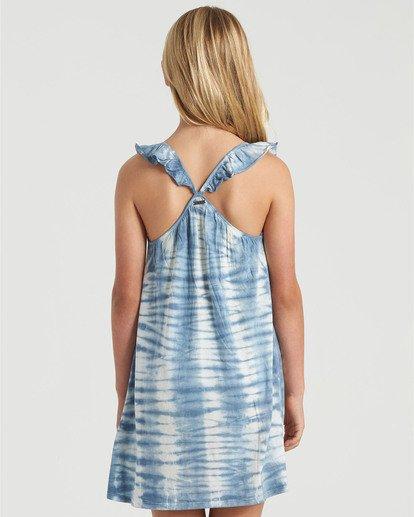 1 Girls' Surf Tides Dress Blue GD423BSU Billabong