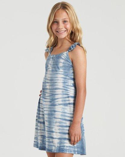 4 Girls' Surf Tides Dress Blue GD423BSU Billabong