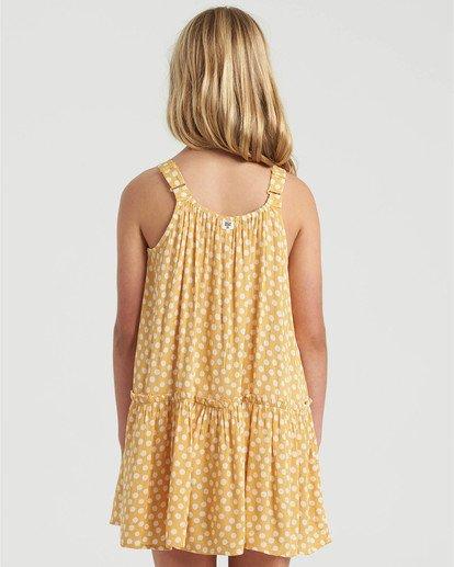 1 Girls' Butterscotch Dress Grey GD473BBU Billabong