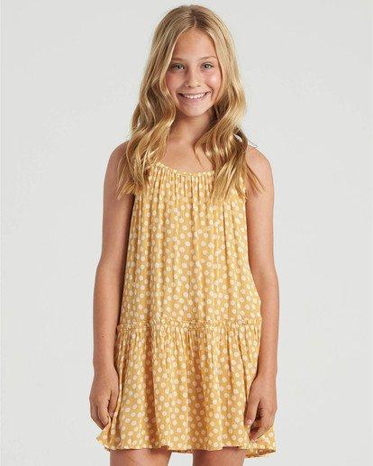 0 Girls' Butterscotch Dress Grey GD473BBU Billabong