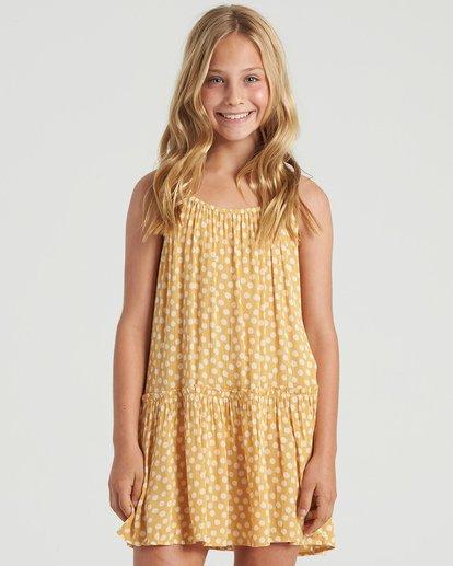 3 Girls' Butterscotch Dress Grey GD473BBU Billabong