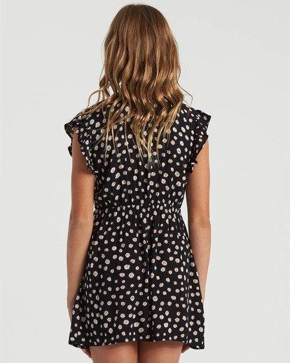 1 Girls' Sweet Shop Dress Black GD493BSW Billabong