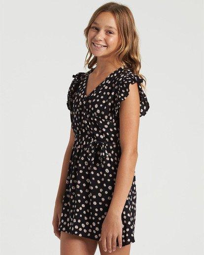2 Girls' Sweet Shop Dress Black GD493BSW Billabong