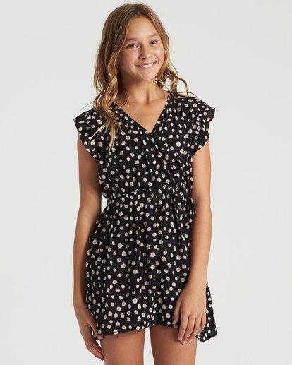 3 Girls' Sweet Shop Dress Black GD493BSW Billabong