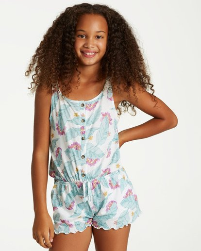 0 Girls' Take Away Romper  GN01VBTA Billabong