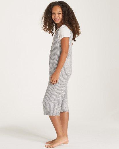 1 Girls' Cozy Up Jumpsuit Grey GN02WBCO Billabong