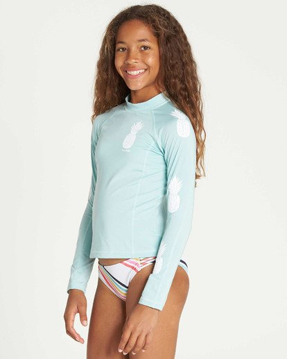 1 Girls' Surf Dayz Performance Long Sleeve Rashguard  GR53TBSD Billabong