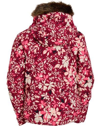 3 Girls' Sula Snow Jacket Pink GSNJ3BSU Billabong