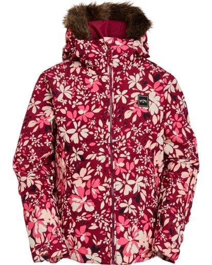 2 Girls' Sula Snow Jacket Pink GSNJ3BSU Billabong
