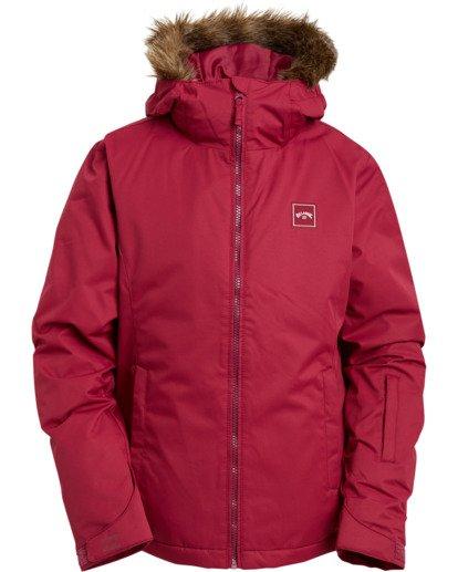 2 Girls' Sula Snow Jacket Red GSNJ3BSU Billabong