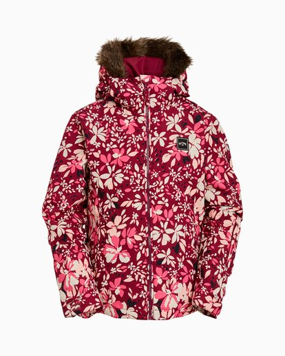 0 Girls' Sula Snow Jacket Pink GSNJ3BSU Billabong