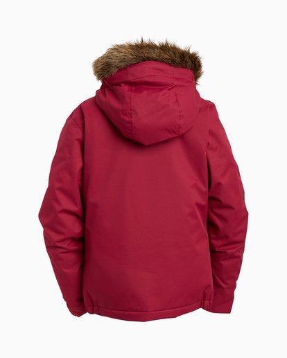 1 Girls' Sula Snow Jacket Red GSNJ3BSU Billabong