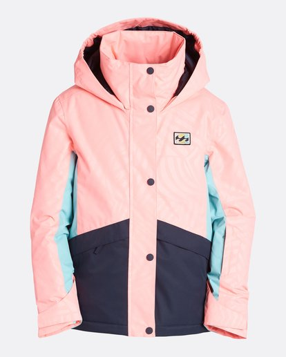6 Girls' Kayla Outerwear Jacket Pink GSNJQKAY Billabong