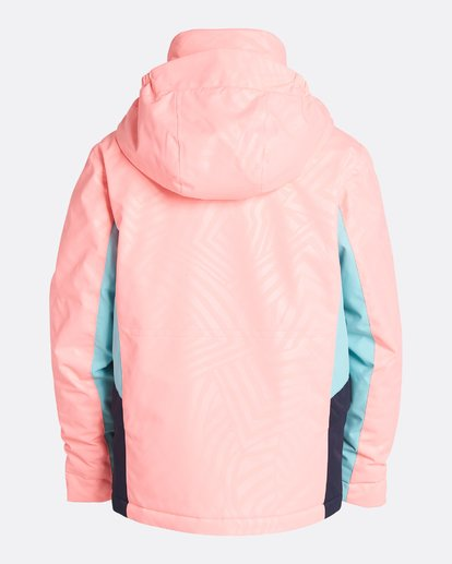 3 Girls' Kayla Outerwear Jacket Pink GSNJQKAY Billabong