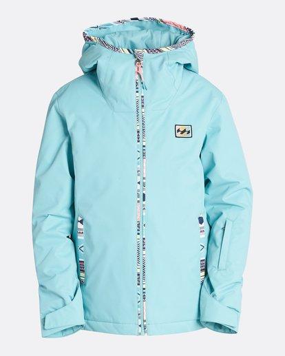 6 Girls' Sula Outerwear Jacket Blue GSNJQSUL Billabong