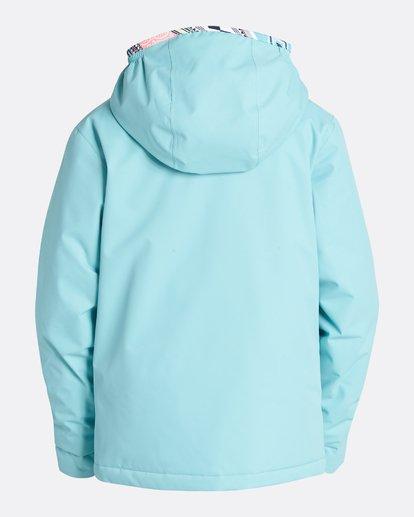 5 Girls' Sula Outerwear Jacket Blue GSNJQSUL Billabong