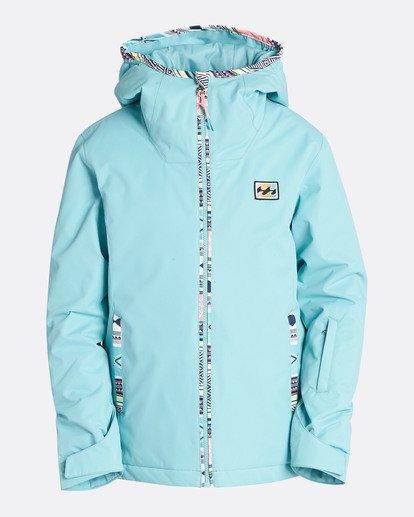 0 Girls' Sula Outerwear Jacket Blue GSNJQSUL Billabong