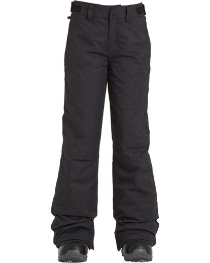 2 Girls' Alue Snow Pant Black GSNP3BAL Billabong