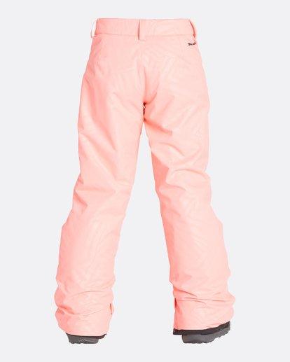 10 Girls' Alue Outerwear Pants Pink GSNPQALU Billabong