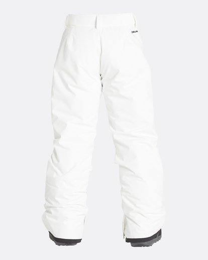 10 Girls' Alue Outerwear Pants White GSNPQALU Billabong