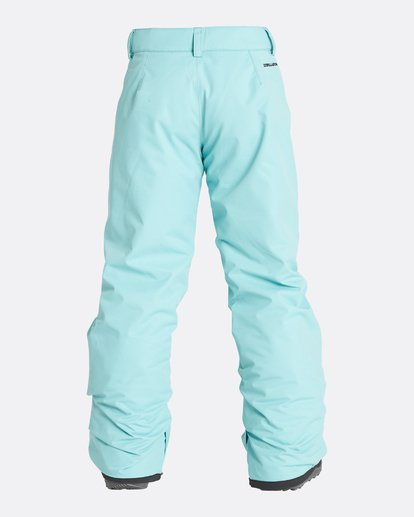8 Girls' Alue Outerwear Pants Blue GSNPQALU Billabong