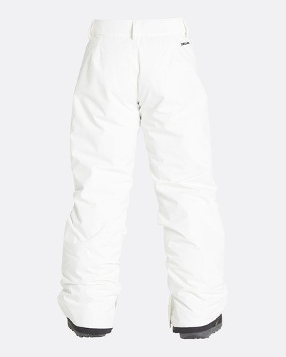 2 Girls' Alue Outerwear Pants White GSNPQALU Billabong
