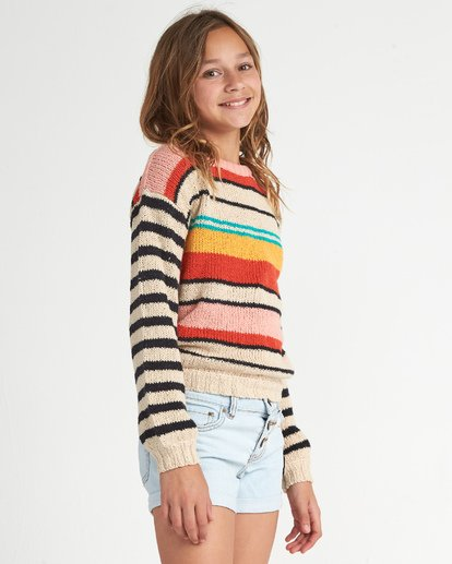 1 Girls' On The Horizon Grey GV011BON Billabong