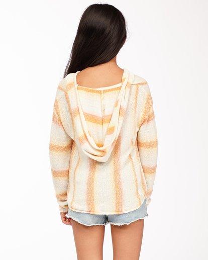 2 Girls' Baja Cove Sweater Grey GV013BBA Billabong