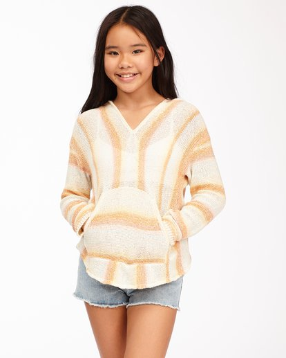 0 Girls' Baja Cove Sweater Grey GV013BBA Billabong