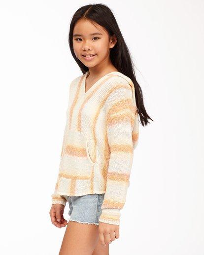1 Girls' Baja Cove Sweater Grey GV013BBA Billabong