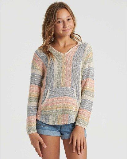 0 Girls' Baja Cove Sweater White GV013BBA Billabong