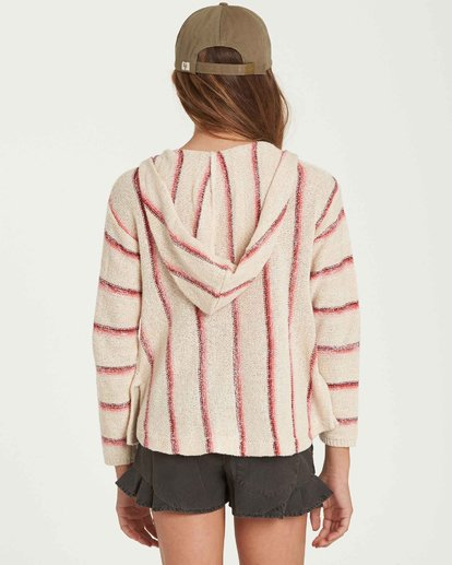2 Girls' Baja Cove Sweater Beige GV01QBBA Billabong