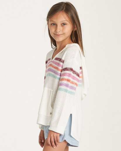 1 Girls' Baja Cove Sweater Red GV02VBBA Billabong