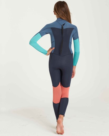 2 Girls' 3/2 Furnace Synergy Back Zip Fullsuit  GWFUQBB3 Billabong