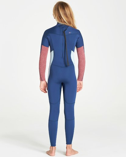 2 4/3 Synergy Back Zip Fullsuit Blue GWFUVBB4 Billabong