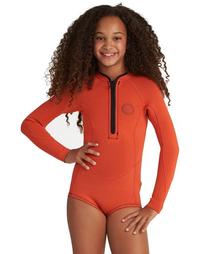 0 Girls' Teen Salty Dayz Springsuit Orange GWSP1BSA Billabong