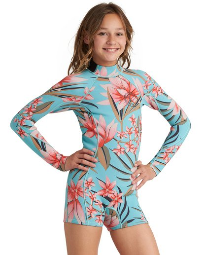 0 Girls' Teen Spring Fever Springsuit White GWSP1BSF Billabong
