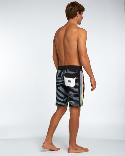 "2 D Bah Airlite 18"" Boardshort Black H1BS02BIP8 Billabong"