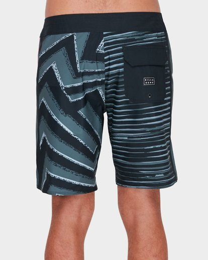 "3 D Bah Airlite 18"" Boardshort Black H1BS02BIP8 Billabong"