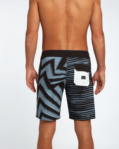 "5 D Bah Airlite 18"" Boardshort Black H1BS02BIP8 Billabong"