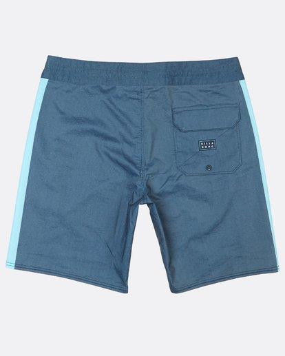 """1 D Bah Lo Tides 18"""" Boardshorts Blue H1BS06BIP8 Billabong"""