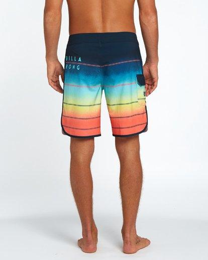 "3 73 X Stripe 19"" Boardshorts Orange H1BS08BIP8 Billabong"