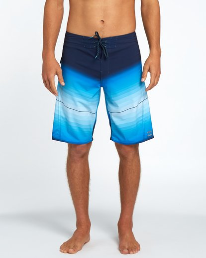 "0 Fluid X 21"" Boardshorts Blue H1BS11BIP8 Billabong"