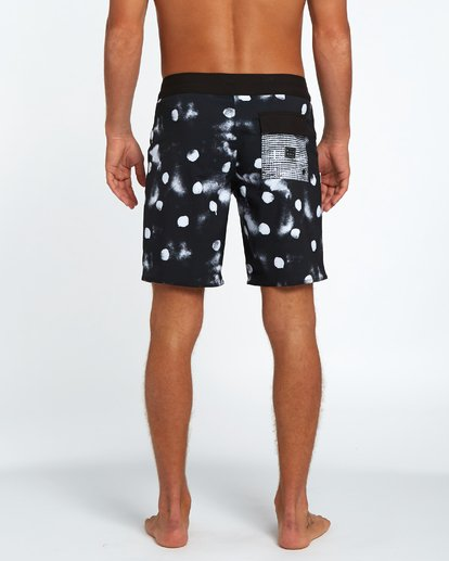 "3 Sundays X 18"" Boardshort Black H1BS12BIP8 Billabong"