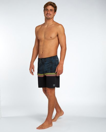 "1 Fifty50 Airlite Pro 18"" Boardshort Noir H1BS37BIP8 Billabong"